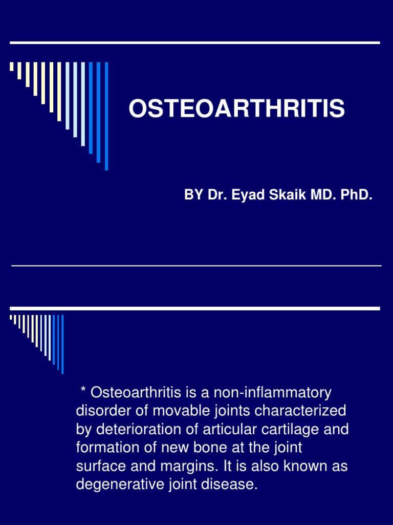 Osteoarthritis Ppt Osteoarthritis Joint Free 30 Day Trial