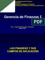Las Finanzas y Sus Campos de Aplic
