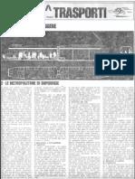 casabella n. 403, 1975, pp. 45-47. TRASPORTI