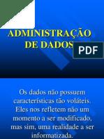 Administração de Dados
