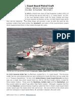 Coast Guard Patrol Vessels