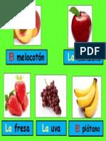 Repaso de Frutas