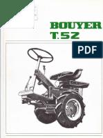 Bouyer T52 Brochure