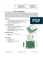 SD Card Adapter Kit (#32313)