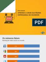 Aprenda a Criar sua Página Empresarial do Facebook