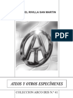 ATEOS Y OTROS ESPECÍMENES