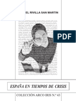 ESPAÑA EN TIEMPOS DE CRISIS