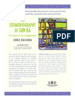 The Cosmobiography of Sun Ra by Chris Raschka - Author's Note