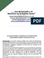 La Casa De Cornelio Y El Bautismo En El Espíritu Santo.pptx