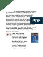 Posiciones Basicas Del Karate