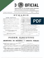 Decreto Parque Nacional El Tepozteco - 1937