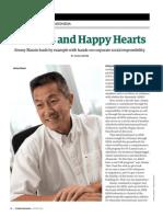 Habitats and Happy Hearts