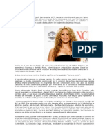 Shakira de Colombia