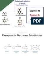 cap16 Reações de benzenos substituídos