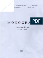 Monografie Comuna Falcoiu
