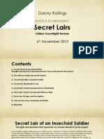 Secret Lairs OGR Presentation