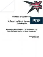 State of Our Streets