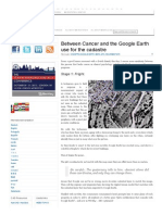 Between Cancer and the Google Earth Use for the Cadastre