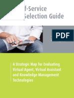 Web Self-Service Vendor Selection Guide