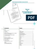 Manual de Correspondencias e Atos Oficiais - UFMS - 2007