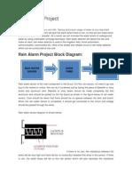 Rain Alarm Project