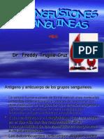 Transfusic3b3n Sanguinea Exposicion