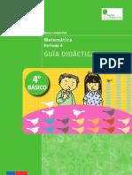 GUÍA DIDÁCTICA PAC Matemática 4°