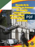 Manejo de la Población de Palomas de Castilla para el Cantón Central de Heredia