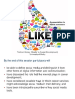 Social media in careers work