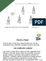 CUMPLES DE 1º DE E.I 2013-14