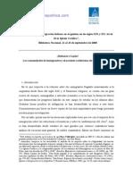 Inmigracion Italiana en La Argentina