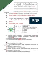 1.1.1 Ficha de Trabalho - A Península Ibérica na Europa e no mundo (1) - Soluções