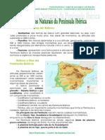 1.1.2 Características naturais da Península Ibérica