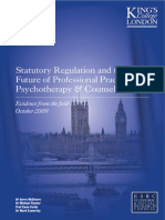 Statutory Regulation and the Future of Professional Practice in Psychotherapy & Counselling - Evidence from the field.pdf