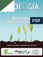 Livro Bio Anatomia e Morfologia