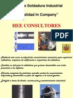 Soldadura Industrial HEE Consultores
