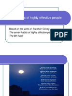 The eight  habits of highly effective people.ppt