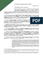 13ª Remuneração dos Agentes Políticos Municipais