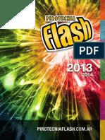 Pirotecnia Flash 2013