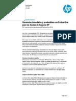 Ganancias inmediatas y predecibles con PartnerOne de HP en Perú