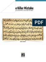 The Killer Mistake [English]
