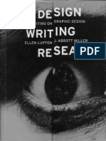 Writing Design Research