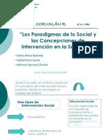 Presentación Javier Corvalán