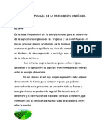 Factores Naturales de La Produccion Organica (Restrepo)