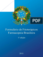 Formulario de Fitoterapicos Da Farmacopeia Brasileira