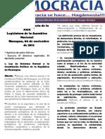 Barómetro Legislativo Diario del miércoles, 06 de noviembre de 2013.pdf