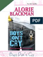 Boys Dont Cry - Malorie Blakman