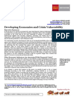 Wells Fargo; Developing Economies and Crisis Vulnerability report