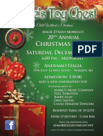 20TH ANNUAL ANGIE'S TOY CHEST UNITED STATES MARINE CORPS TOYS FOR TOTS PARTY