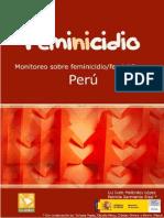 Feminicidio Peru 2008